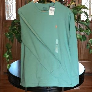 Ralph Lauren polo long sleeve Tee size small NWT
